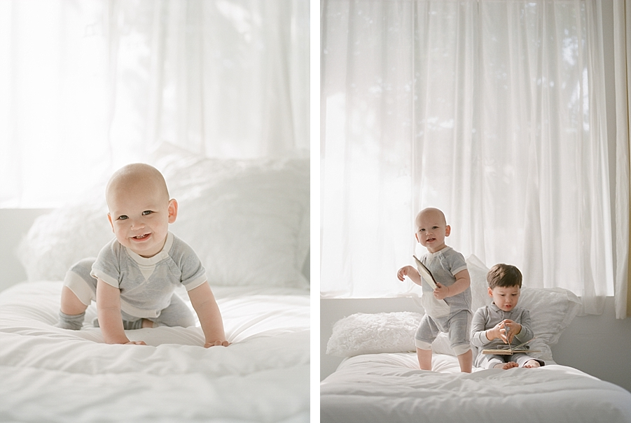 Seattle newborn photographer, Sandra Coan.  Newborns and families on film.  Film Photography