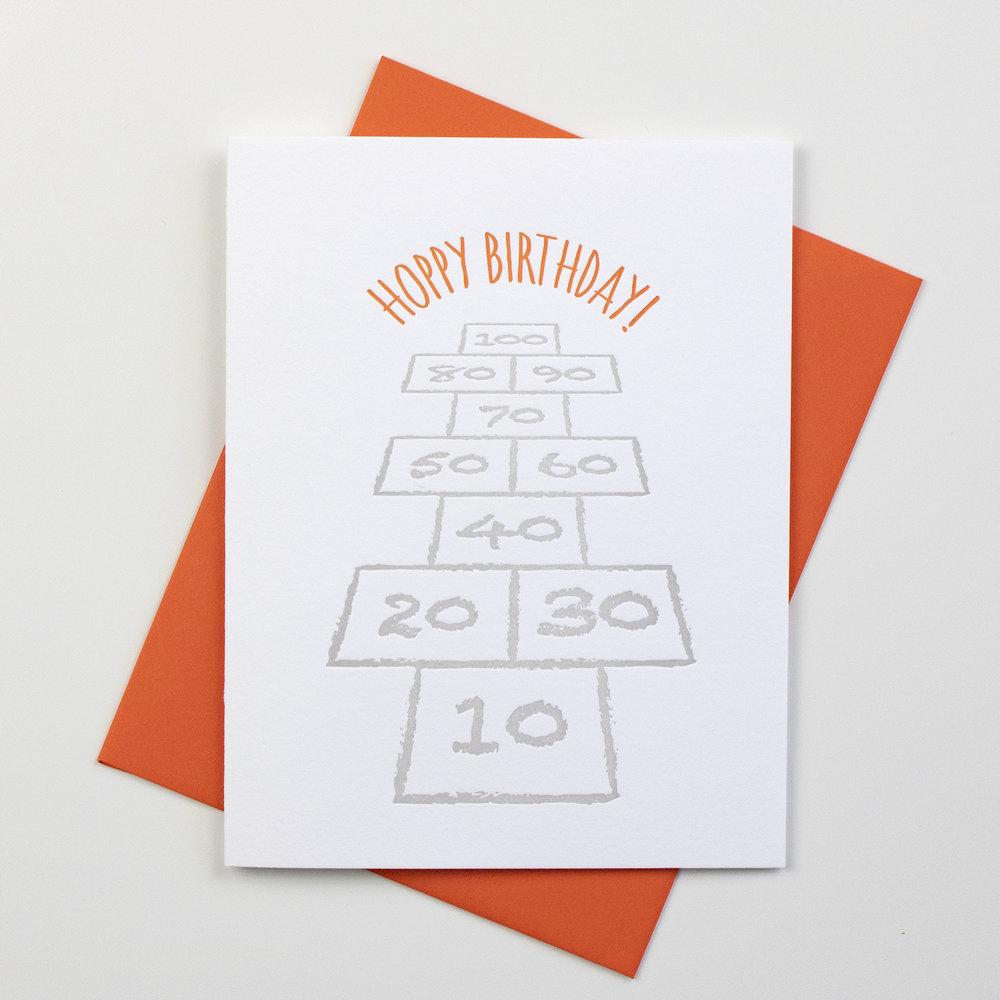 card - hoppy birthday - orange.jpg