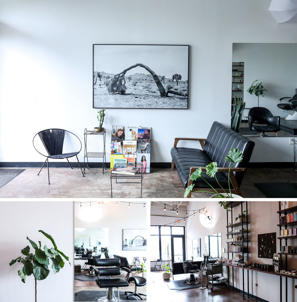 Holiday is a hair salon, barbershop, and retail store located in the Buchanan Arts District in Nashville, Tennessee.