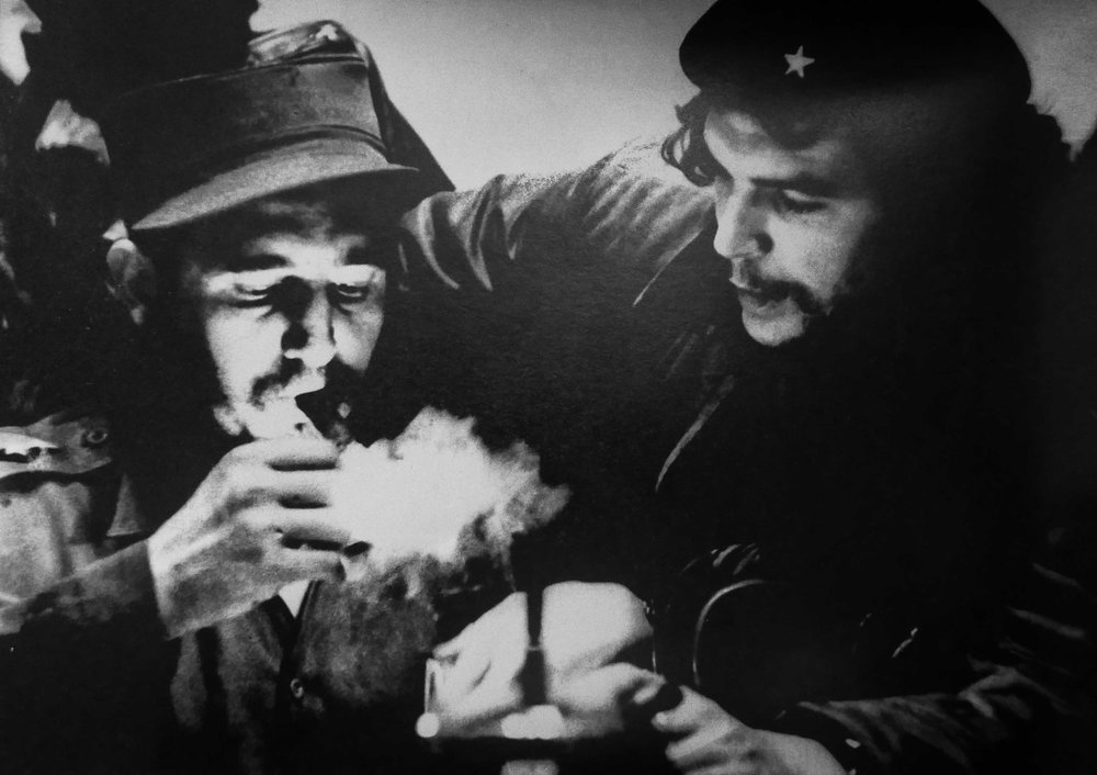 Fidel and Che -- Salas