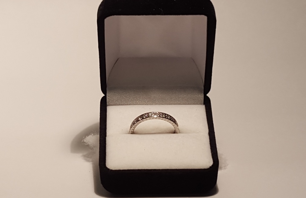 The antique Art Deco engagement ring that you could win