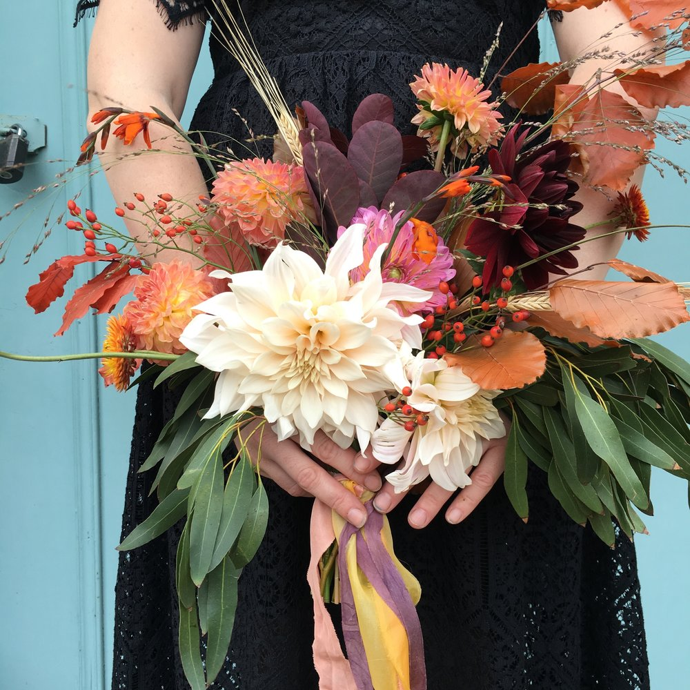 Bloomologie autumn bouquet