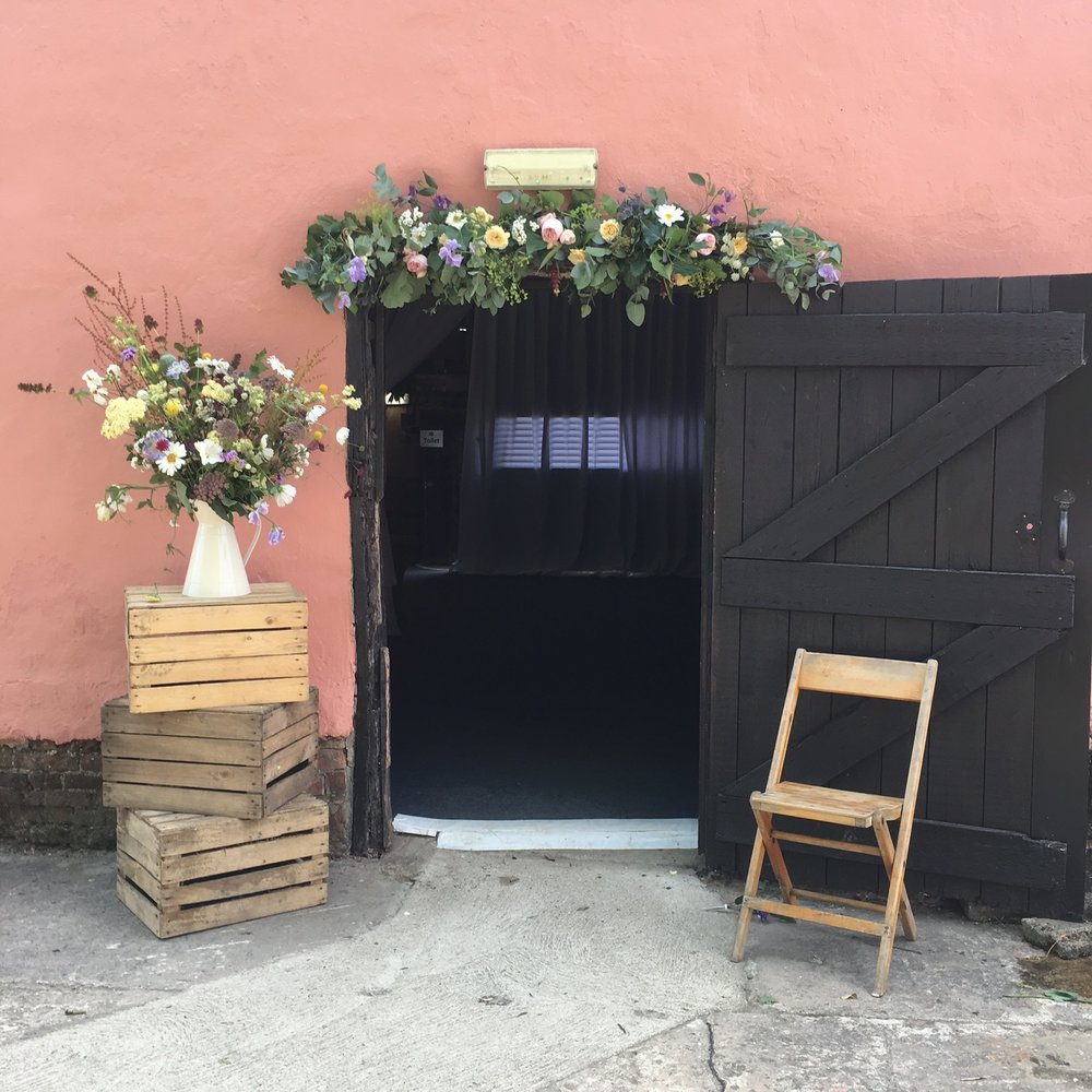 All British-grown flowers for a summer wedding by Bloomologie in Suffolk