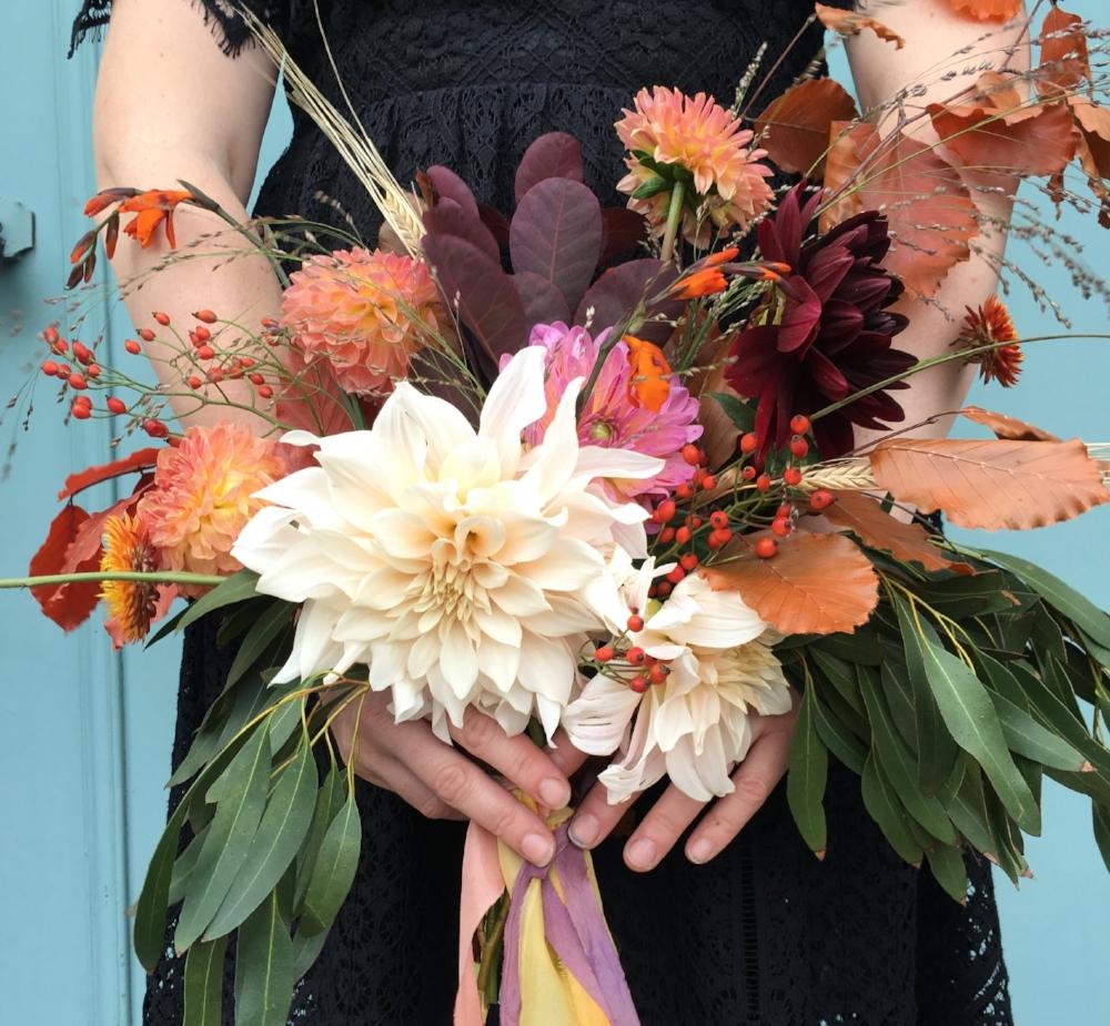 Bloomologie autumn bouquet