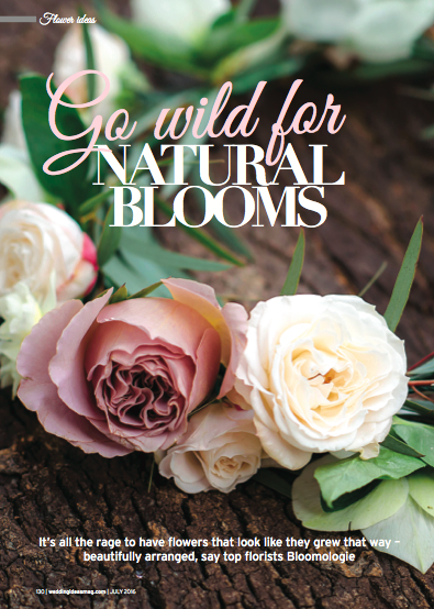 Bloomologie Wedding Ideas magazine 1
