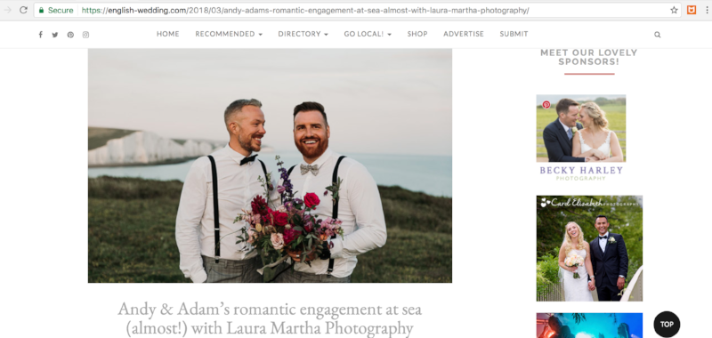 English Wedding Blog Bloomologie