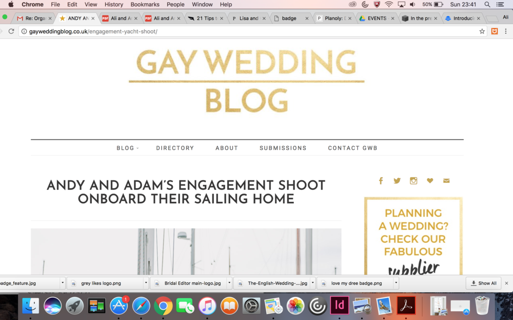 Gay Wedding Blog