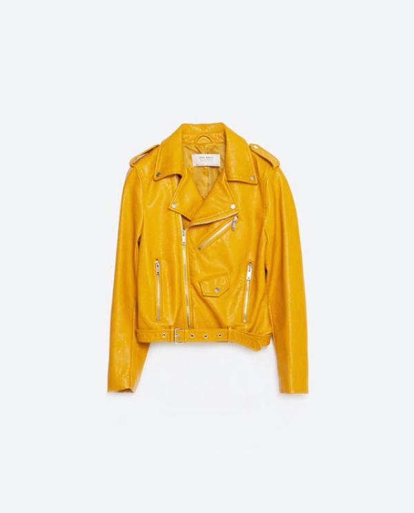 Faux Leather Jacket $39.99