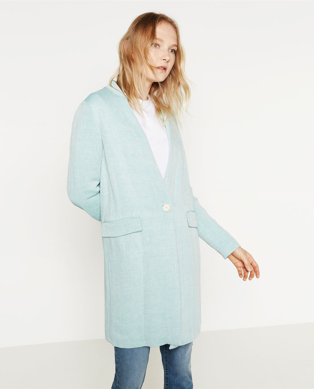 Linen Cotton Coat $39.99
