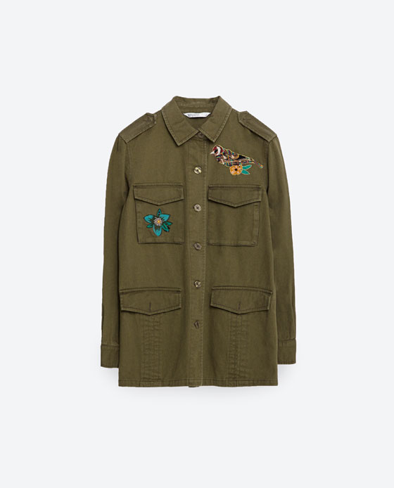 Embroidered Jacket $39.99
