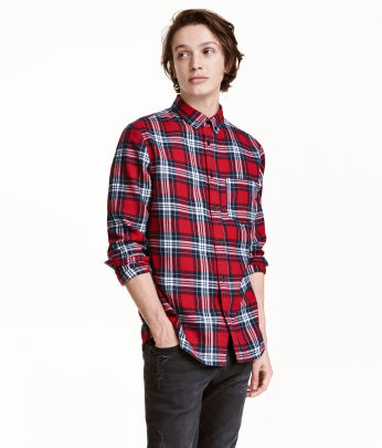 h&m Plaid Flannel $12.99