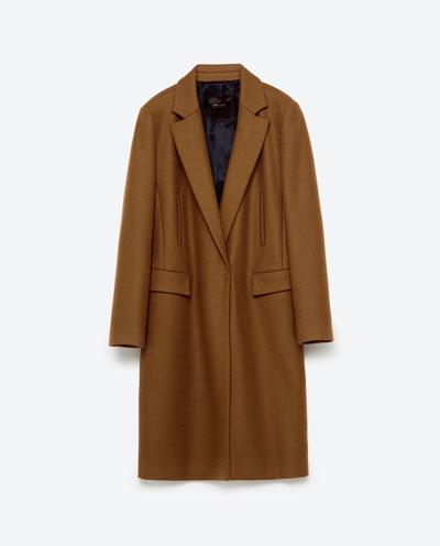 Zara Masculine Coat $169.00