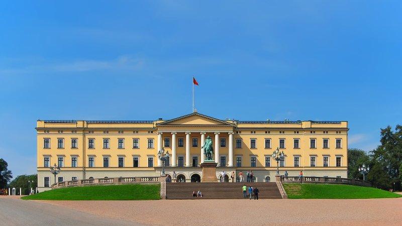 Королевский дворец в Осло. Источник: 6*