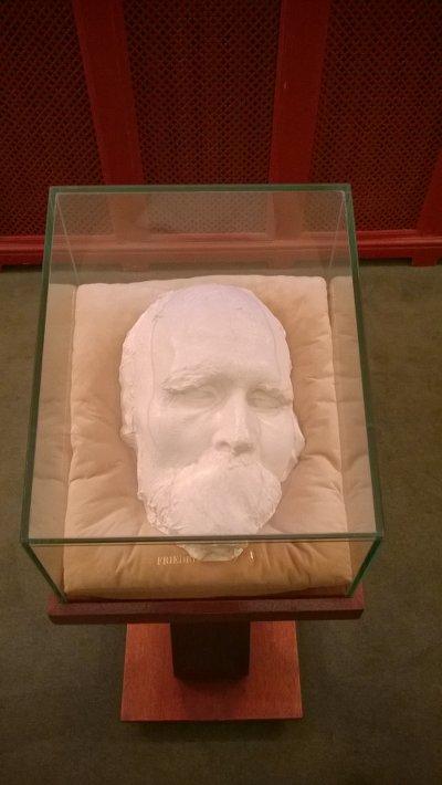 Посмертная маска Ницше