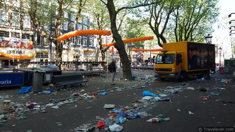 Утро в центре после Днякороля.Источник:www.thetimes.co.uk
