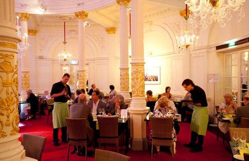 Такой вот Зеркальный зал. Почти без зеркал.Источник:www.concertgebouw.nl