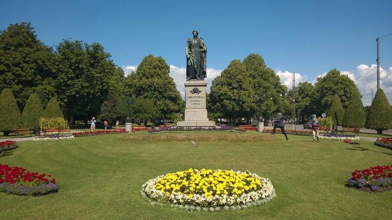 Памятник Карлу-Юхану Бернадотту