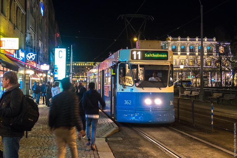 Трамваи в Гётеборге – это нечто! Это главная изюминка города!