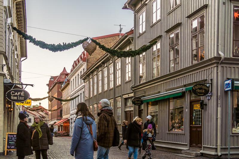 Январь 2017 в  Гётеборге , температура чуть ниже нуля