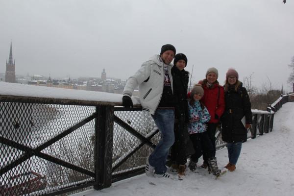 Индивидуальная экскурсия по Стокгольму с невероятной, позитивной и чудесной семьёй. 8 марта 2018 (да-да, такой вот выдался март ;)
