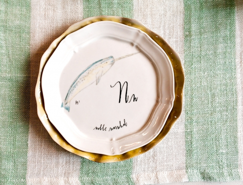 Anthropology's nautical inspired plates