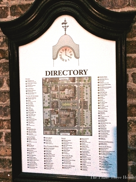 Directory, Lake Forest's Market Square