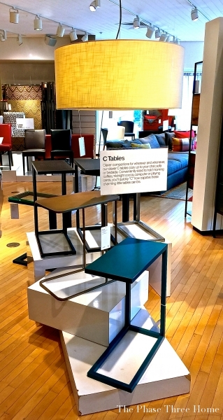 Crate & Barrel's C Table Collection