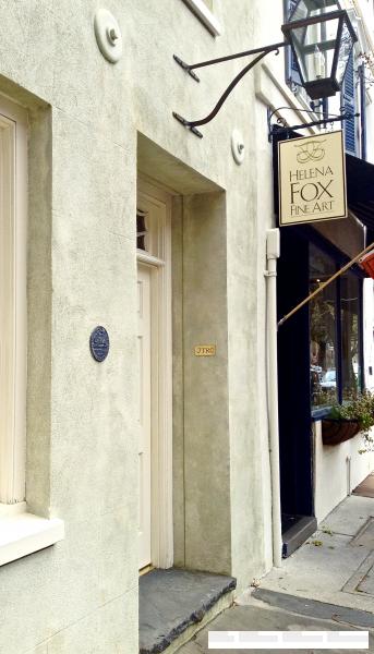 charleston stucco storefront