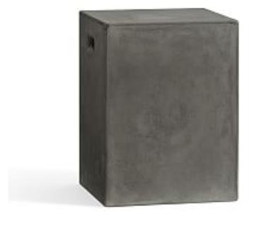 PB Concrete accent stool