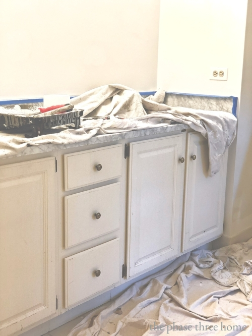 kids' bath vanity  renovation