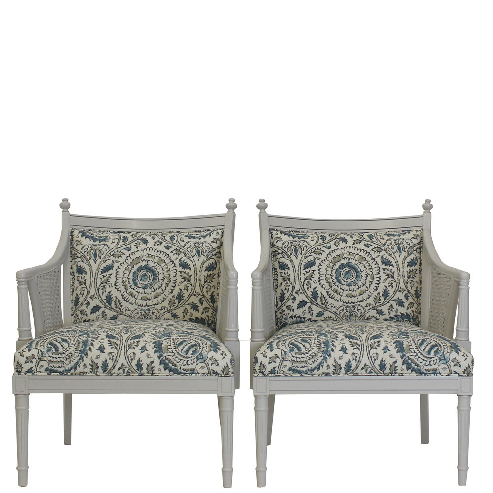 Superb Hollywood Regency Chairs