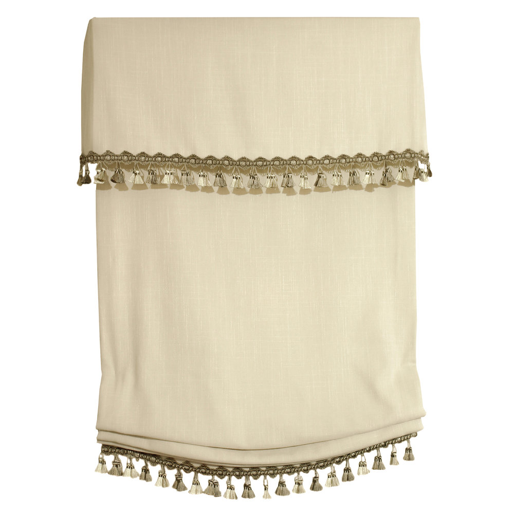 Soft with Tassel Trim