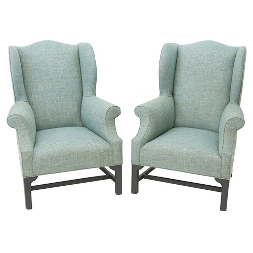 hepplewhite wing chair the tailored home