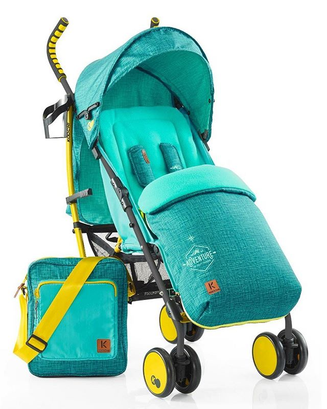 The Speedstar is suitable from birth and comes with the whole kit, including fleece-lined footmuff, cup holder and changing bag.