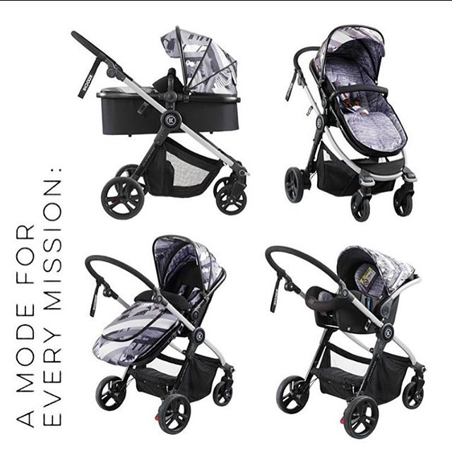 Meet Modhero, Mum's Hero.  Everything included in one premium package. Pram, carry cot and car seat for just RRP £589.95.  Shown here in new pattern Saigon. Pre order yours at www.koochi.co.uk