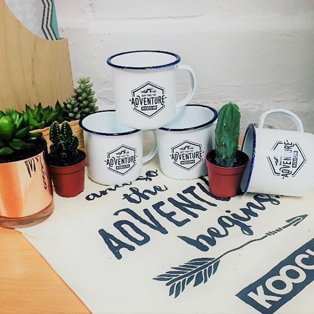 Say Yes to Adventure. We've got four of these super cute Koochi mugs to give away. Head to our Facebook to enter bit.ly/2m1Vsfy 🌵🌞