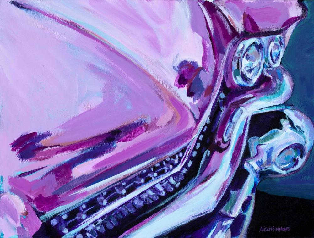 Pink Cadillac, 1959