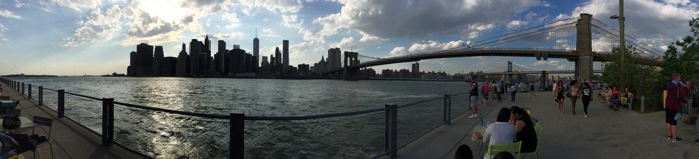 View of Manhattan, home to our software development team.