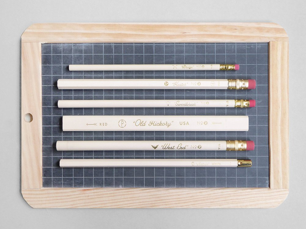 Six Pencil Variety Box via  Present & Correct