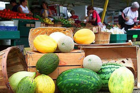 Fresh, Ripe Summer Melons from your Farmer's Market!!