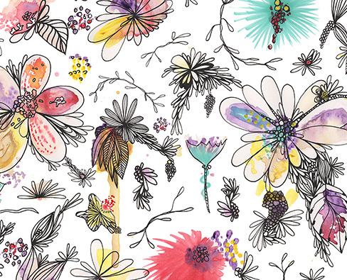 botanical pattern patriciasodre