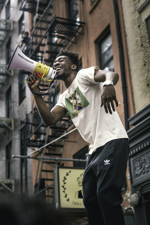 Desiigner X Adidas, NYC