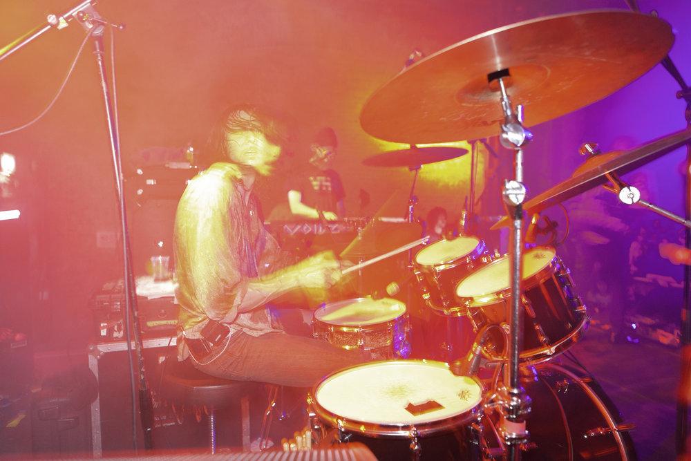 Alex, drummer of The Voidz