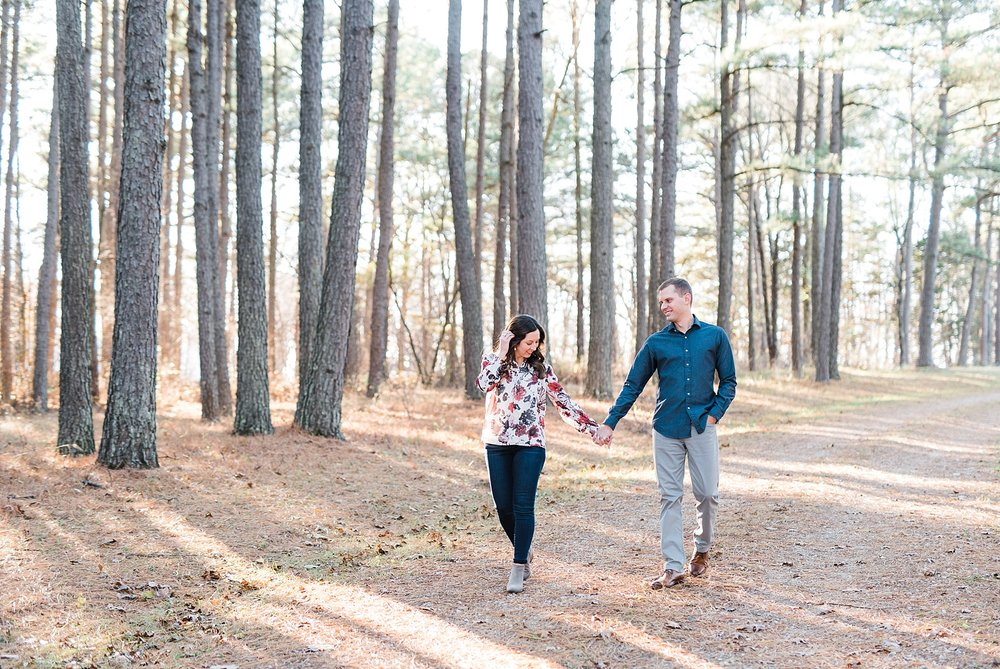 Mid-Missouri Fall Engagement In Pines_0051.jpg