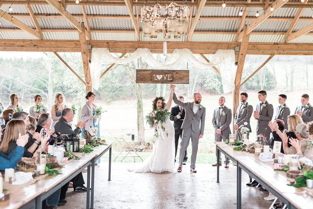 Outdoor Spring Wedding at Kempker's Back 40