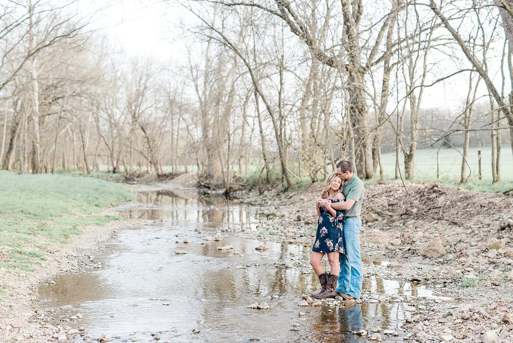 Spring Sunset Farm Engagement Session on Family Farm in Missouri Midwest by Kelsi Kliethermes Photography_0006.jpg