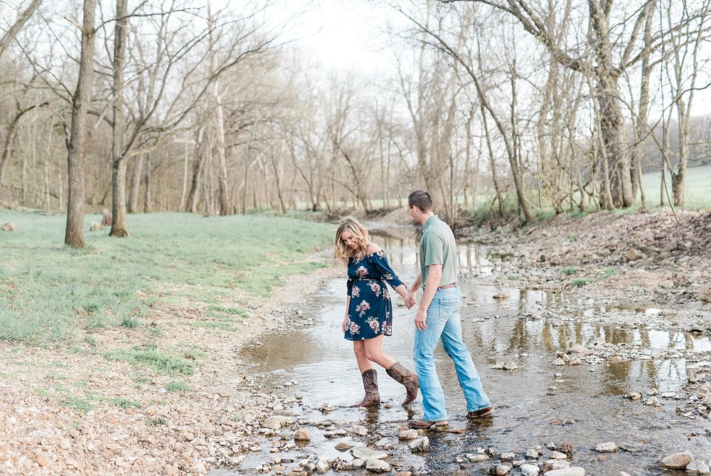 Spring Sunset Farm Engagement Session on Family Farm in Missouri Midwest by Kelsi Kliethermes Photography_0007.jpg