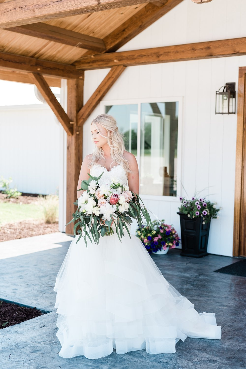 Stunning Heartfelt, Elegant, Fine Art, Chic, Outdoor Spring Wedding with Blush, Cream, Greenery, Rose Gold, and Sequins at Emerson Fields Venue by Kelsi Kliethermes Photography_0019.jpg