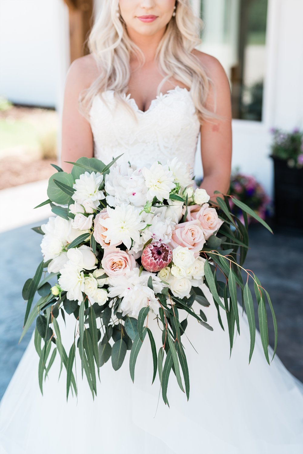 Stunning Heartfelt, Elegant, Fine Art, Chic, Outdoor Spring Wedding with Blush, Cream, Greenery, Rose Gold, and Sequins at Emerson Fields Venue by Kelsi Kliethermes Photography_0020.jpg