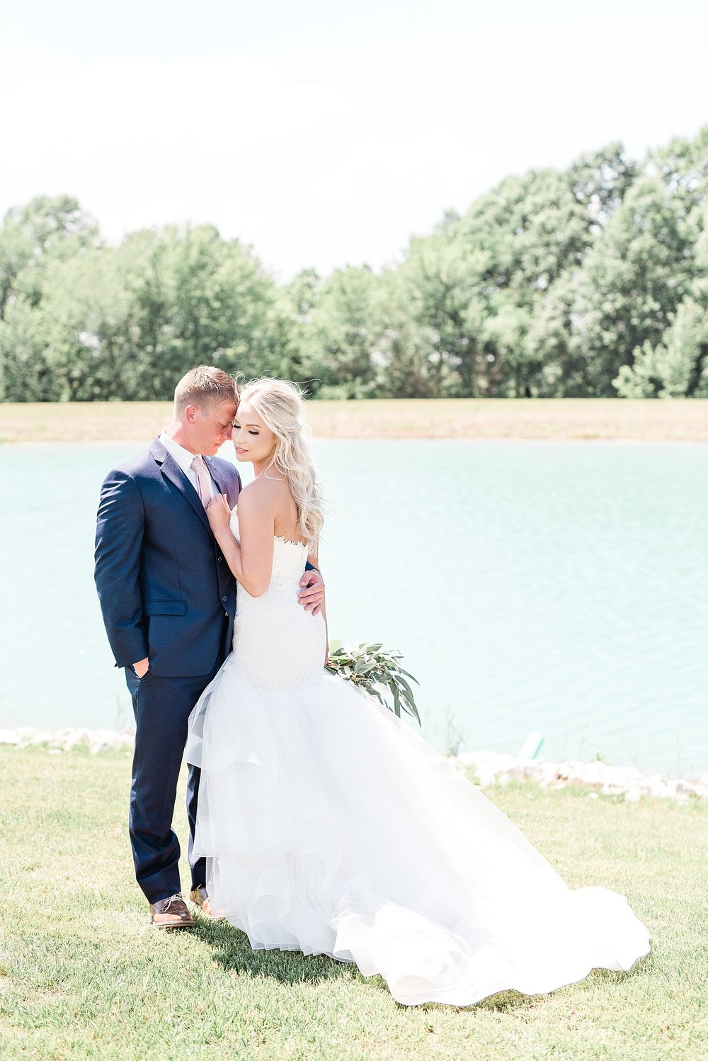 Stunning Heartfelt, Elegant, Fine Art, Chic, Outdoor Spring Wedding with Blush, Cream, Greenery, Rose Gold, and Sequins at Emerson Fields Venue by Kelsi Kliethermes Photography_0026.jpg